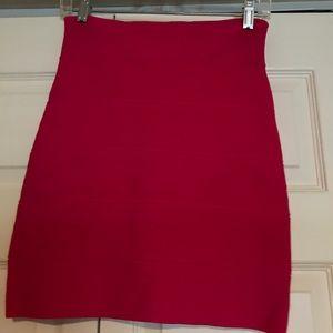 Pink BCBG Pencil Skirt